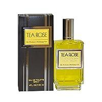 Tea Rose by Perfumer's Workshop for Women – 4 Ounce EDT Spray
