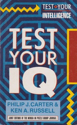 Pdf intelligence test book