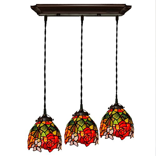 Kitchen Pendant Light Red in US - 6