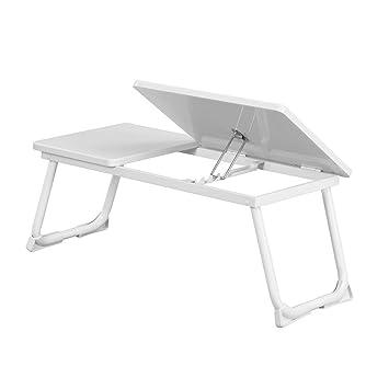 Ihouse - Mesa plegable para ordenador portátil con barra antideslizante para iPad de 14 a 17