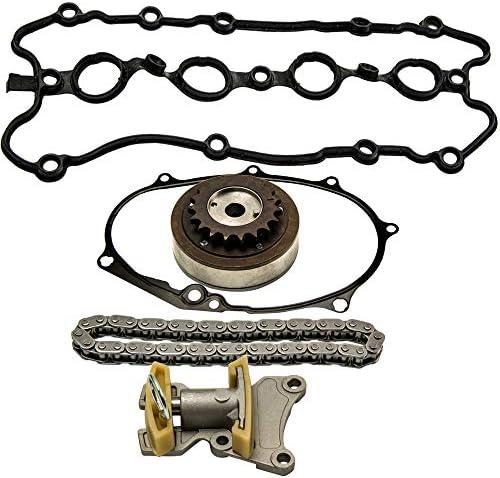 labwork 5Pcs Cam Timing Adjuster Chain Tensioner Gasket Kit for VW ...