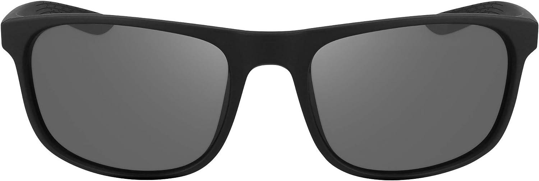 Occhiali da Sole Unisex Nike Endure CW4652 colore 010 Nero lente Grigio Fumo