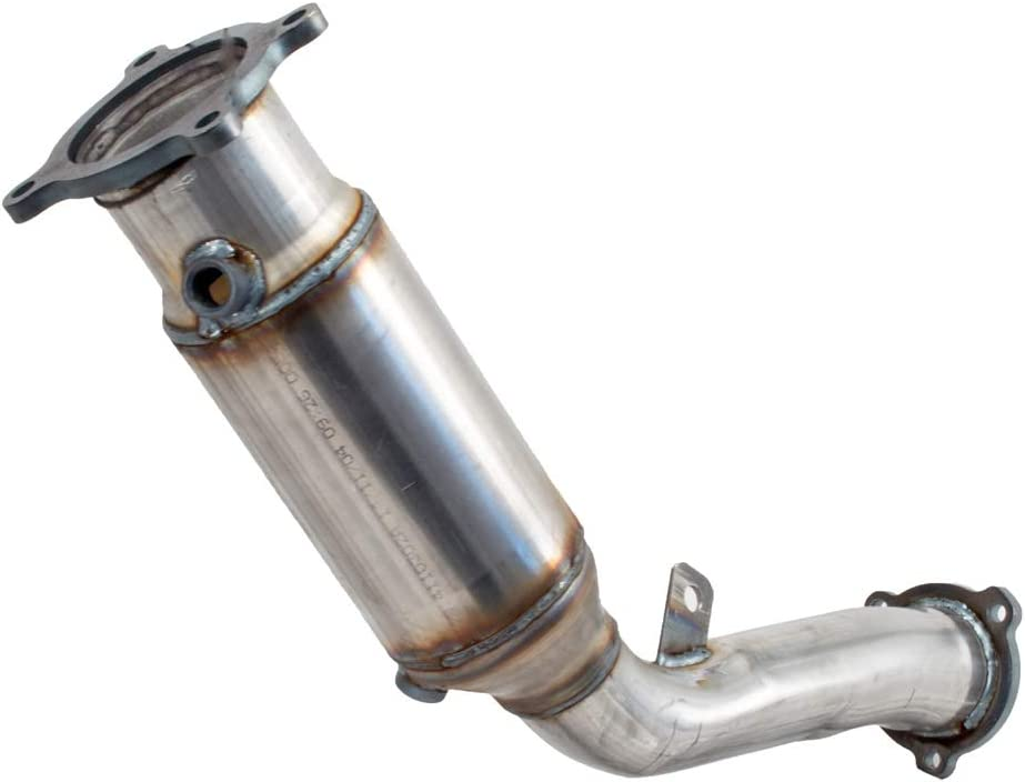Non C.A.R.B. Compliant Pacesetter 324530 Raw Steel Direct Fit Undercar Catalytic Converter