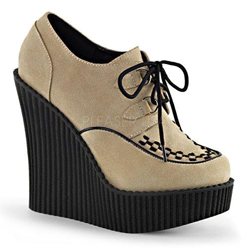 Demonia Womens Cre302 / Bvs Mode Sneaker Grädde Vegan
