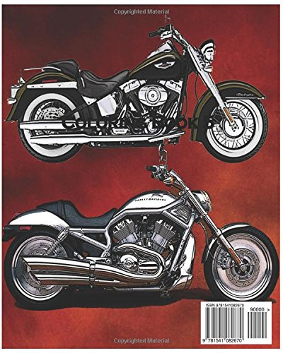 - Amazon.com: Motor : Harley-Davidson Coloring Book 5: Design Coloring Book  (9781541082670): Crutis, Fred: Books