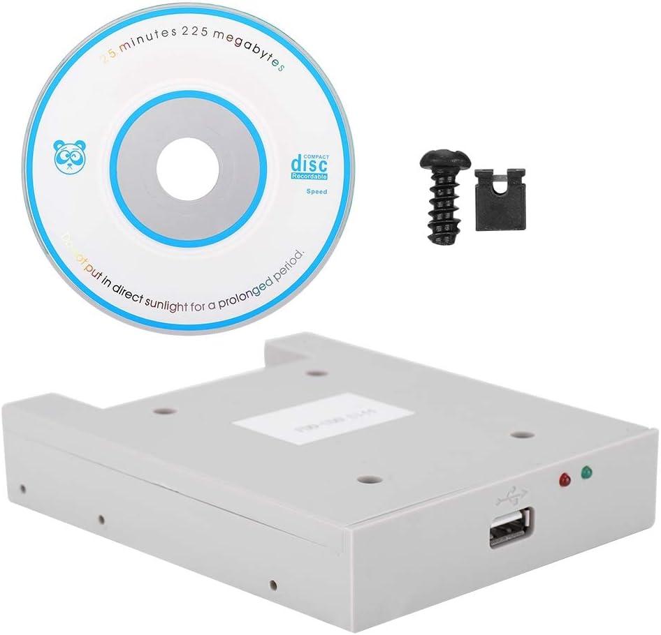 Jingyig Emulador de Unidad de Disquete, transmisión Estable FDD-UDD U144 Emulador USB de Gran Capacidad, para Controladores industriales de máquina Herramienta de Datos