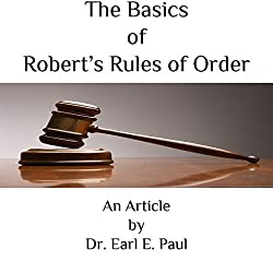 The Basics of Robert's Rules of Order