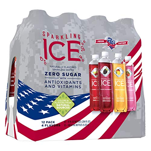 - Sparkling Ice Variety Pack, 17 Fl. Oz (Pack of 12) - Packaging May Vary