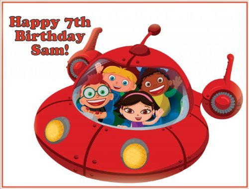 (Single Source Party Supply - Little Einsteins Edible Icing Image #3-8.25