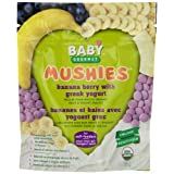 Baby Gourmet Mushies Banana Berry with Greek Yogurt, 8-Pack