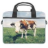 Cpmputer Carrying Case Grassland Animal Cow