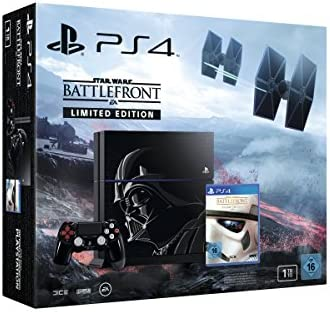 Sony Star Wars PlayStation 4 - videoconsolas (PlayStation 4, Unidad de disco duro, Negro, 802.11b, 802.11g, 802.11n, GDDR5, AMD Jaguar): Amazon.es: Videojuegos