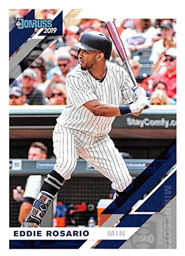 fe13866b0fe Amazon.com: 2019 Donruss Baseball #103 Eddie Rosario Minnesota Twins Panini  Trading Card: Collectibles & Fine Art