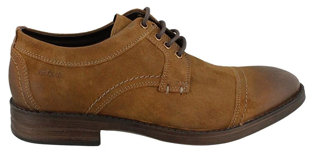 Clarks Men's, Delsin View View View Lace up Oxfords TAN 10.5 M cc3926