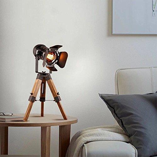 Decoluce Vintage Adjustable Cinema Table Lamp Nautical