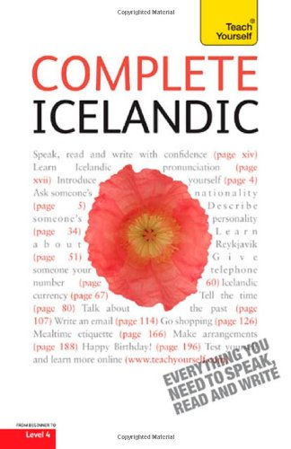 Complete Icelandic: A Teach Yourself Guide (Teach Yourself Language)...