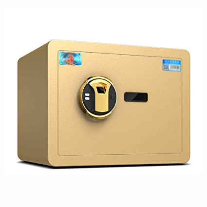 b611431a5573 Amazon.com: Yale lock Household Mini Safe All Steel Safe Deposit Box ...