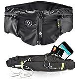 Hövding Airbag Helm 2.0, schwarz, 3238 Radfahrschutz Fahrrad Bike Sicherheit inklusive Oramics Bauchtasche