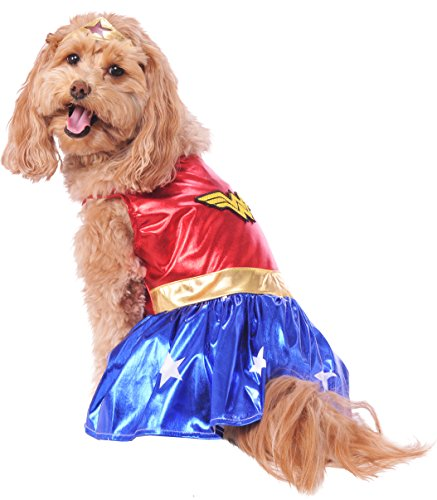 Rubie's DC Comics Pet Costume, Large, Wonder Woman by Rubie's (Image #1)