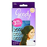 Goody Simple Styles Mini Spin Hair Pin, Assorted Colors,3-Count (1940931)
