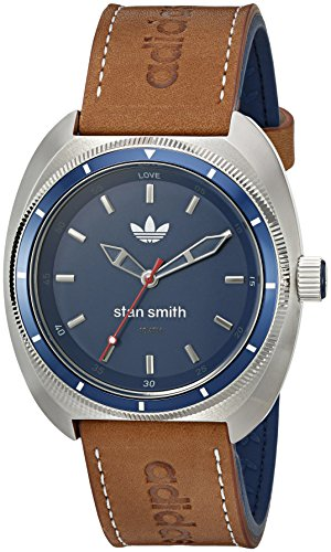 adidas-Mens-ADH3006-Stan-Smith-Analog-Display-Analog-Quartz-Brown-Watch