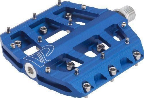 VP Components VP-Vice Pedals (Pack of 2) (9/16-Inch, Blue)