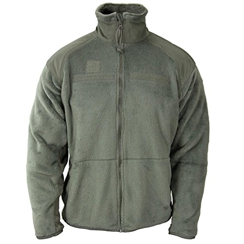 Polartec Official US Military Thermal Pro Gen III Cold Weather Fleece Jacket M M/R (Medium Regular, Foliage Green)