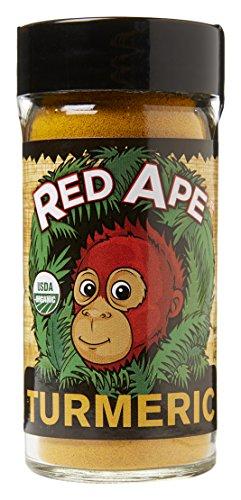 Red Ape Cinnamon Organic Ground Turmeric Shaker Jar, 1.7 oz by Red Ape Cinnamon®