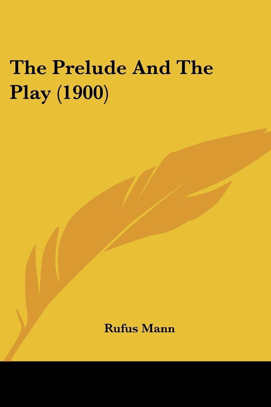 Download The Prelude And The Play (1900) pdf epub