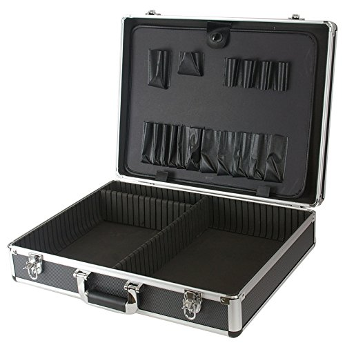 SRA Cases EN-AC-FY-A032 Aluminum Hard Tool Case, 20.8 x 15.8 x 5.1 Inches Divider