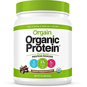 Orgain Organic Plant Based Protein Powder, Packaging May Vary