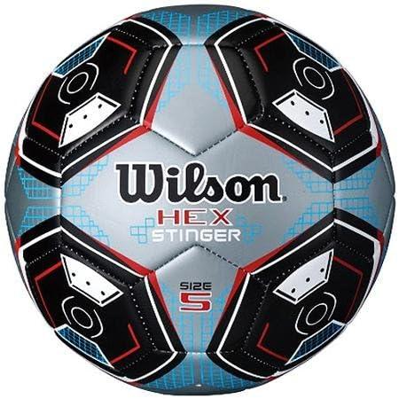 Wilson Hex Stinger balón de fútbol tamaño 4: Amazon.es: Deportes y ...