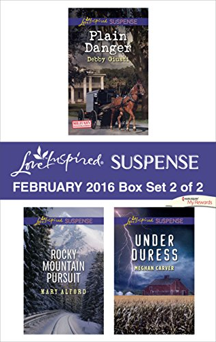 book cover of Love Inspired Suspense February 2016 - Box Set 2 of 2