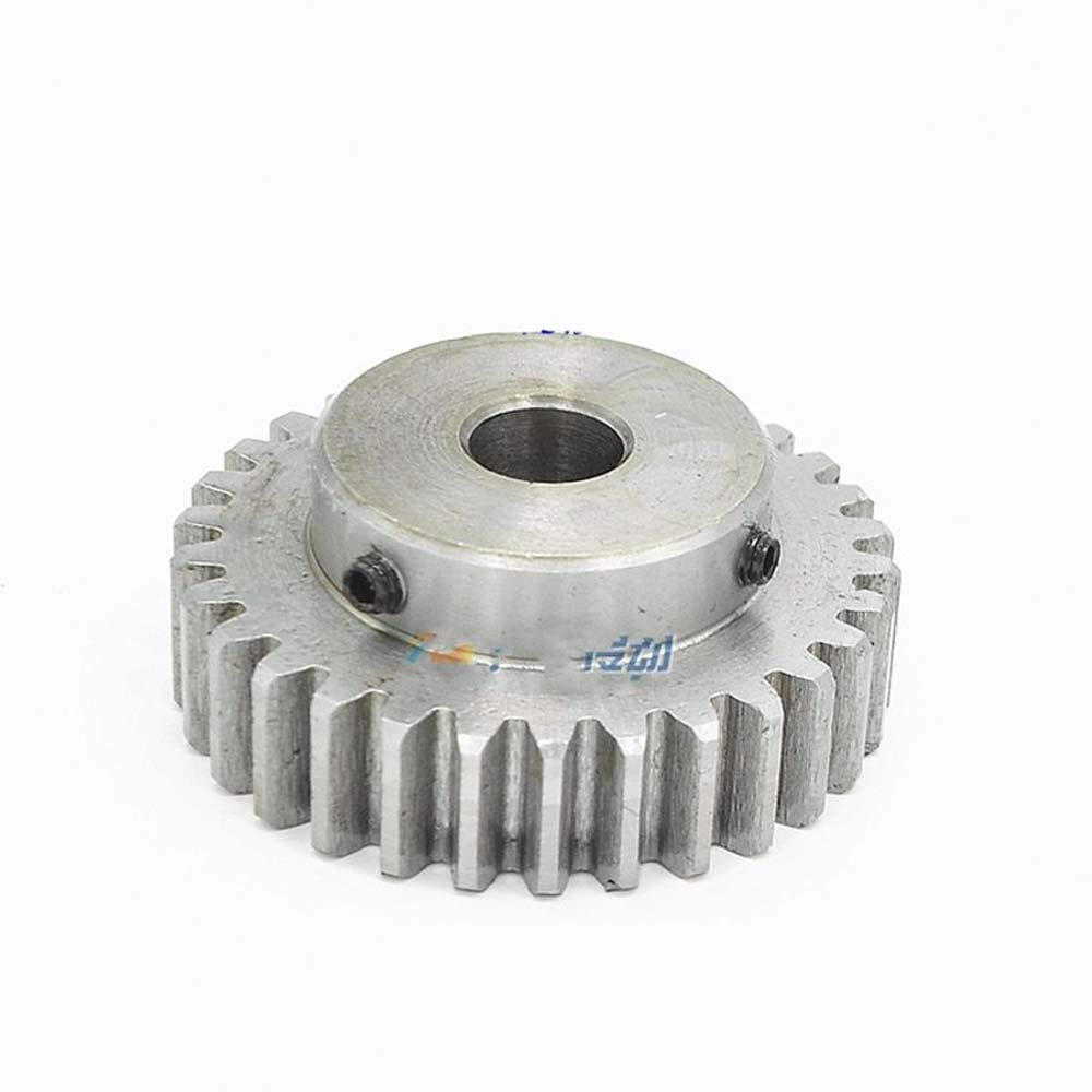 45# Steel Spur Pinion Gear 1.5Mod 40T Motor Gear Outer Dia 63mm Bore 16mm x 1Pcs