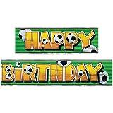 12ft Football Happy Birthday Banner