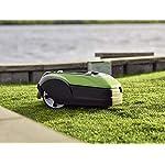 Greenworks-Robot-Rasaerba-Optimow-10-GRL110-Tosaerba-Semovente-a-Batteria-fino-1000m-fino-35-Pendio-20-60-mm-Altezza-Taglio-70-min-Tempo-Taglio-Silenzioso-con-Stazione-Ricarica