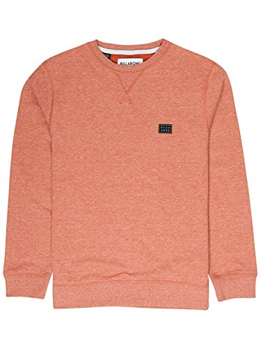 Hazel Crew Unisex Billabong All Day Felpa IEwE4fXrq