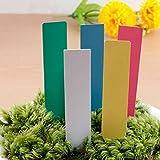 200Pcs Mini Plastic Plant Seed Label Pot Marker Nursery Garden Stake Tags Tool Cute Garden Labels