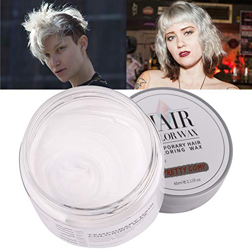(Spdoo 6 Colors Unisex Temporary Hair Color Wax, Hairstyle DIY Wax Dye Styling Cream Mud for Party, Nightclub,)