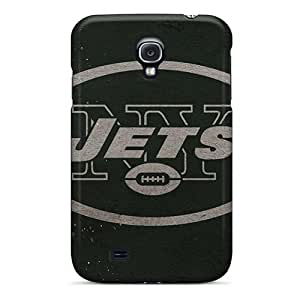 Samsung Galaxy S4 AZo11809wuuk Customized Beautiful New York Jets Pictures Scratch Protection Cell-phone Hard Cover -DannyLCHEUNG