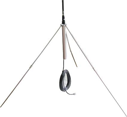 15M Cable Powerful 1//4 Wavelength GP Antenna for 0.5-30W Watt FM Transmitter
