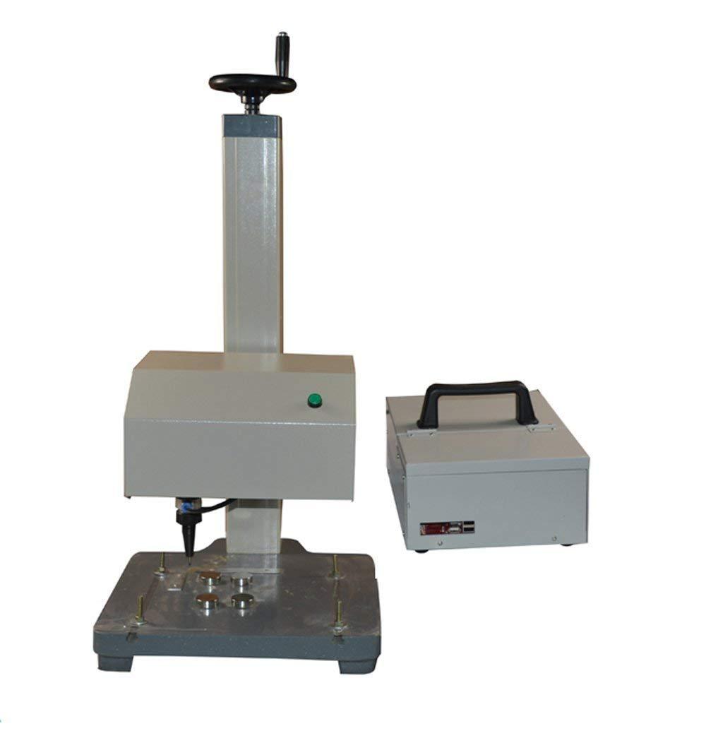INTBUYING 7'' Touch Screen Pneumatic Dot Peen Marking Machine Metal Print by INTBUYING