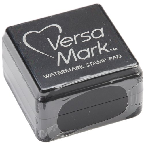 (Tsukineko Small-Size VersaMark Pigment Inkpad, Clear)