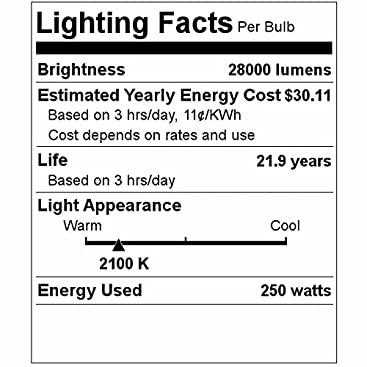 LU50 SYLVANIA 67503 50 Watt Listing is for HPS 2 Two Bulbs