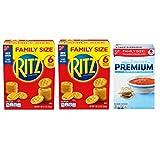 RITZ Crackers & Premium Saltine Crackers Variety