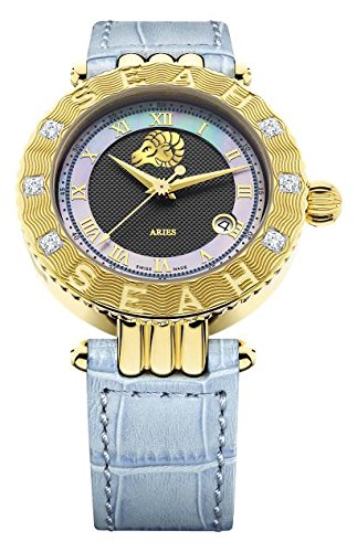 Seah-Empyrean-Zodiac-sign-Aries-42mm-Limited-Edition-18K-Yellow-Gold-Tone-Swiss-Made-Automatic-Luxury-Diamond-watch