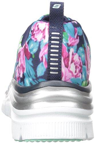 Skechers (SKEES) - Fashion Fit, Scarpa Tecnica da donna, blu (nvmt), 37