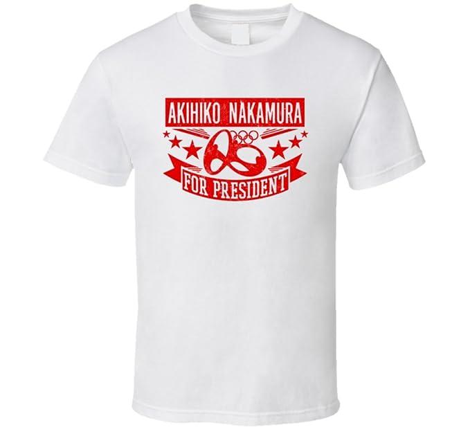 Akihiko Nakamura para Presidente Japón Decathlon T Shirt: Amazon.es: Ropa y accesorios