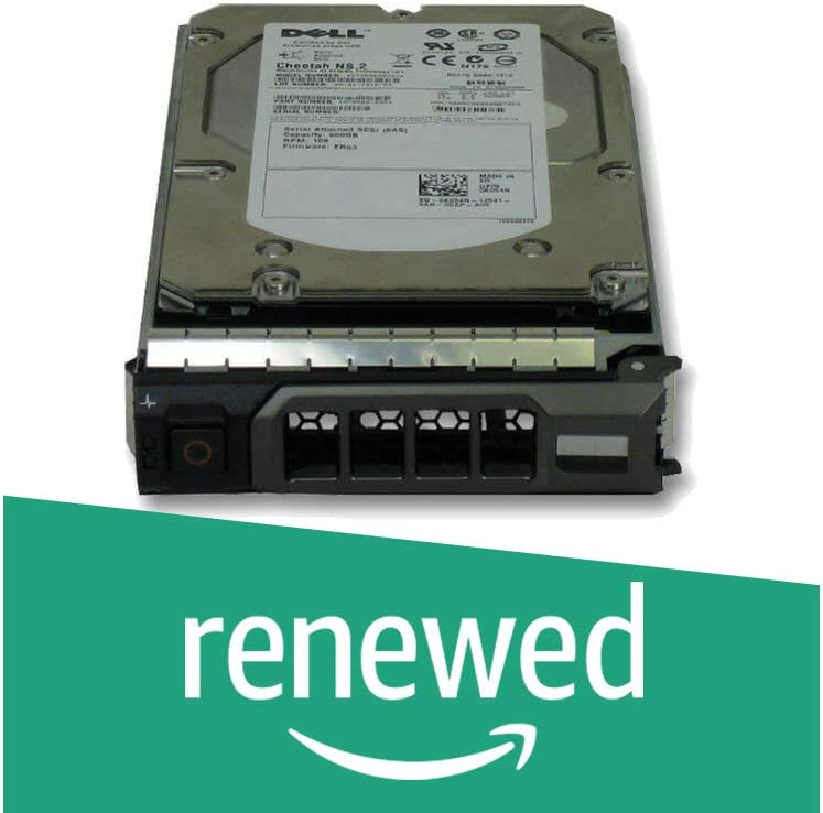 "Dell Certified 1TB Enterprise SATA 3.5"" Hard Drive for Poweredge R710, R720, R410, R415, R510, R320, R420, R520, W/ Caddy (Renewed)"