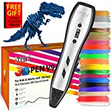 7TECH 3D Pen for Kids Adults with 180 Feet PLA Filament Refills 280 Stencil Ebook(Sent Through Amazon Message) Printing Printer Pen